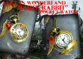 Alice in Wonderland Watch by ArtByStarlaMoore