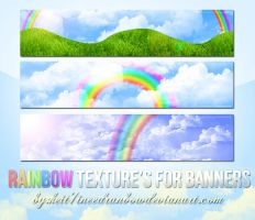 Pack3TexturasRainbowforbanners by ineedrainbow