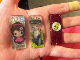 My failed epoxy resin charms by Wolffy5683