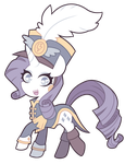 Wonderbolt Uniform Rarity by nekozneko