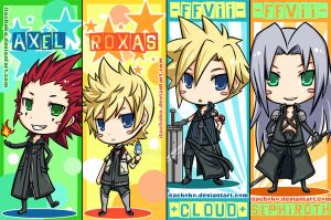 squenix bookmarks by jurieduty