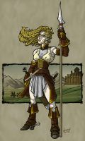 eowyn of rohan by hamdiggy