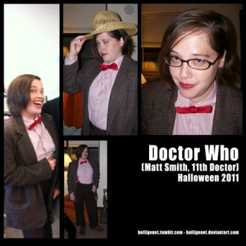 Doctor Who - Halloween 2011 by HolliGenet