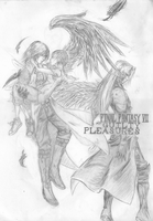 Final Fantasy VII - My Guilty Pleasures(Title Art) by d-AspiringAmeture-b