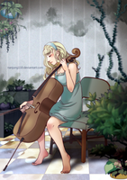 A Girl and Cello by Nanjung110
