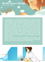 Hetalia: Greece CSS Skin by Monokanguyen