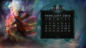 Calendar #8: February 2015 by Holyknight3000