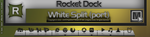 White Split for Rocket Dock by vi20RickrMetal12us