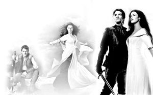 Richard and Kahlan wallpaper by DrivenByDesperation