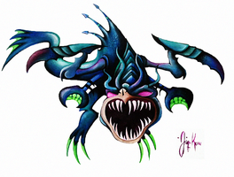 Cho Gath Loch Ness Monster by Jaacqs