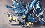 Commission: Leiden's Team by ShadeofShinon