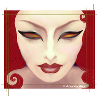 FireBird Woman by FoxFireRed