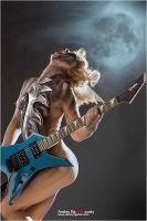 advertisment of the guitars by nastyalight