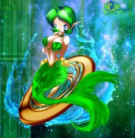 Mermaid Sage - Saria by Sunrise-oasis
