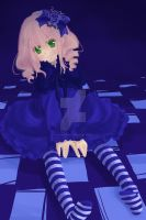Lovely Doll in a Blue World by GothicIchigo