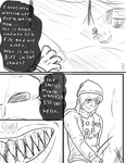 30 Days Of Night comic page 1 by Ynnep