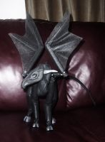 soft sculpture winged creature by drefea