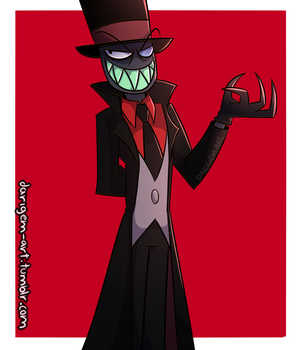black hat by darigem-art