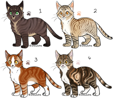 Cat Adopts - closed owo by CaptainClovey