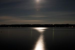 Moon Light Reflection by BillH-Photo