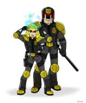 Dredd and Anderson: A Deadly Duo by MoeAlmighty