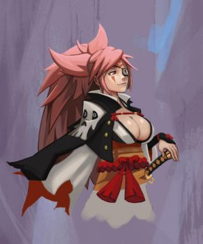 Baiken fanart by NukeMed