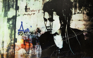 Aoi The GazettE wallpaper by xCaro-chan