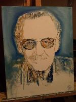 Stan Lee by mike-nesloney