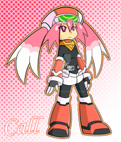 Mighty No 9 - Call Pink by Kamira-Exe