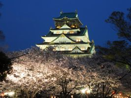 Osaka Castle 01 by nicojay