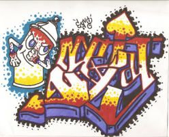 SpLaT Graff by EyVo