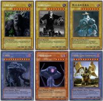 Giant Monsters Yu Gi Oh cards2 by LordSmog