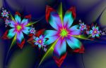 flowers - ultra fractal 2 by SvitakovaEva