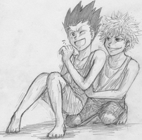 HxH - Tickle by FerioWind