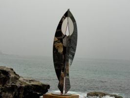 Sculpture by the sea - Reflection by Ariel1707
