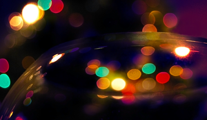 lights 10 - colourful bokeh by oro-elui-stock