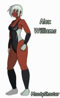 Alex Williams Reference by MoodyShooter