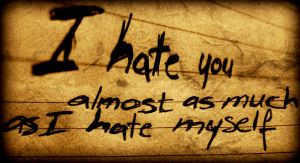 Hate. by idlemickey