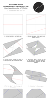 Origami Scratched Record Diagrams by OrigamiPhoenix