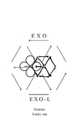 [Wallpaper] Exo logo 2016 (White) by StoneHeartedHan