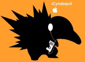 Ipod Cyndaquil by NickTheCharmander