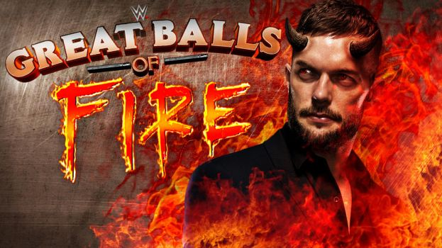 WWE Great Balls Of Fire 2017 by CRISPY6664