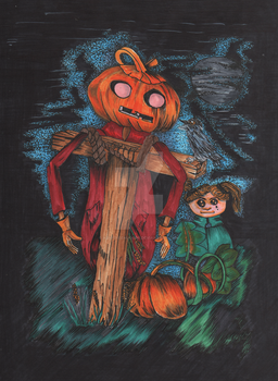 Honey and the Pumpkin King by Abigtreehugger