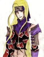 ino in akatsuki by zamariah