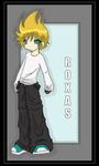 Roxas by Mergic-and-Tor