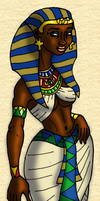 Queen Sekhotep of Kametu by BrandonSPilcher