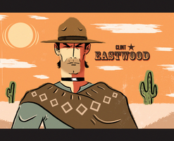 EASTWOOD GOES POPTAGE by paintmarvels