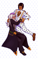 JJBA5: i will Never stop by loutrem