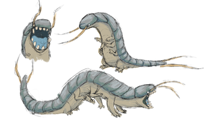 Silverfish Critter by red-anteater