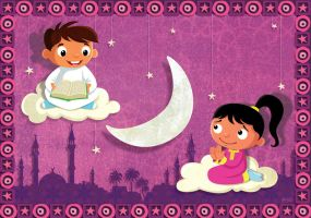 Ramadan Greeting Card2 by hanno